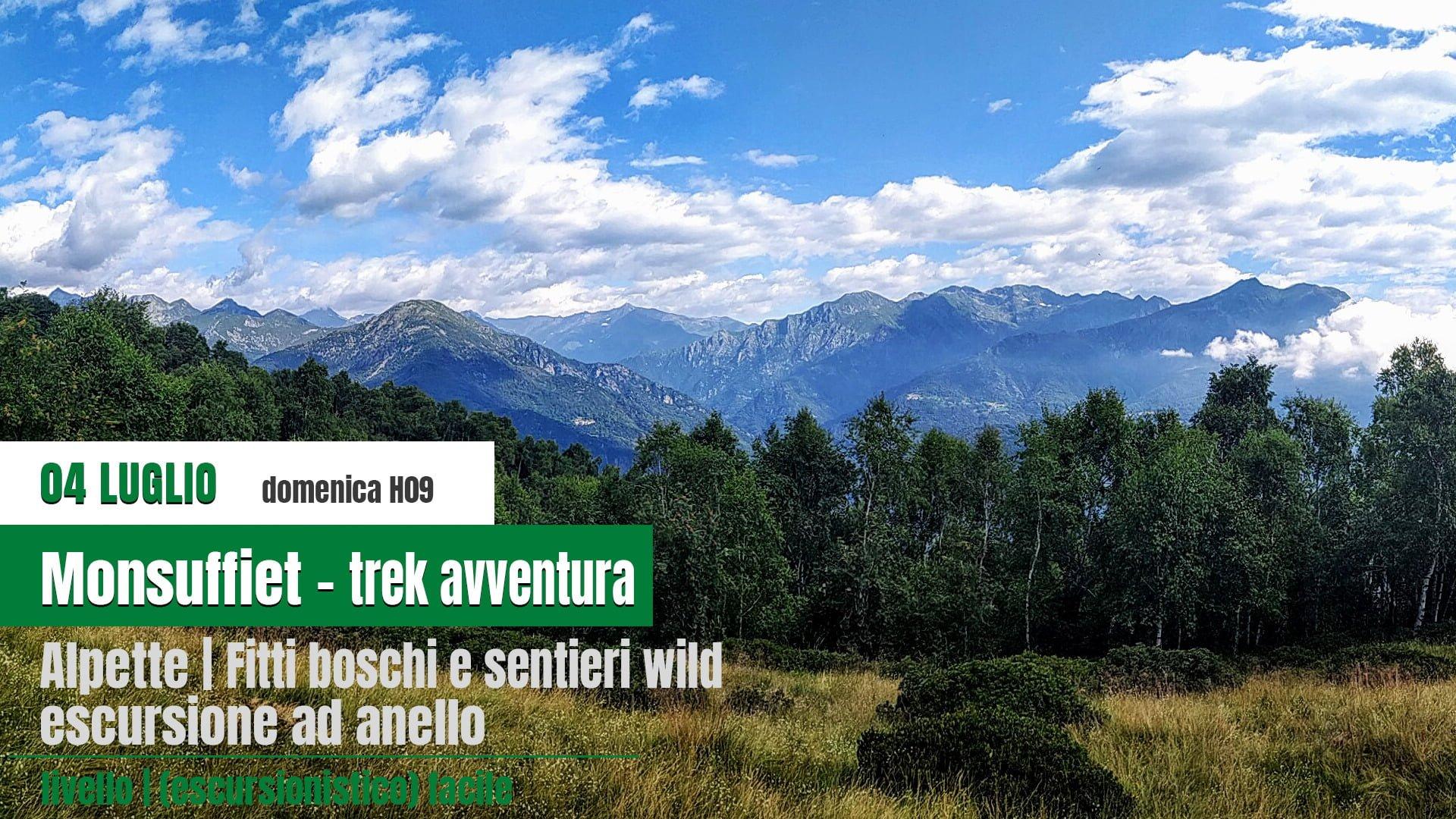 Monsuffiet wild trek