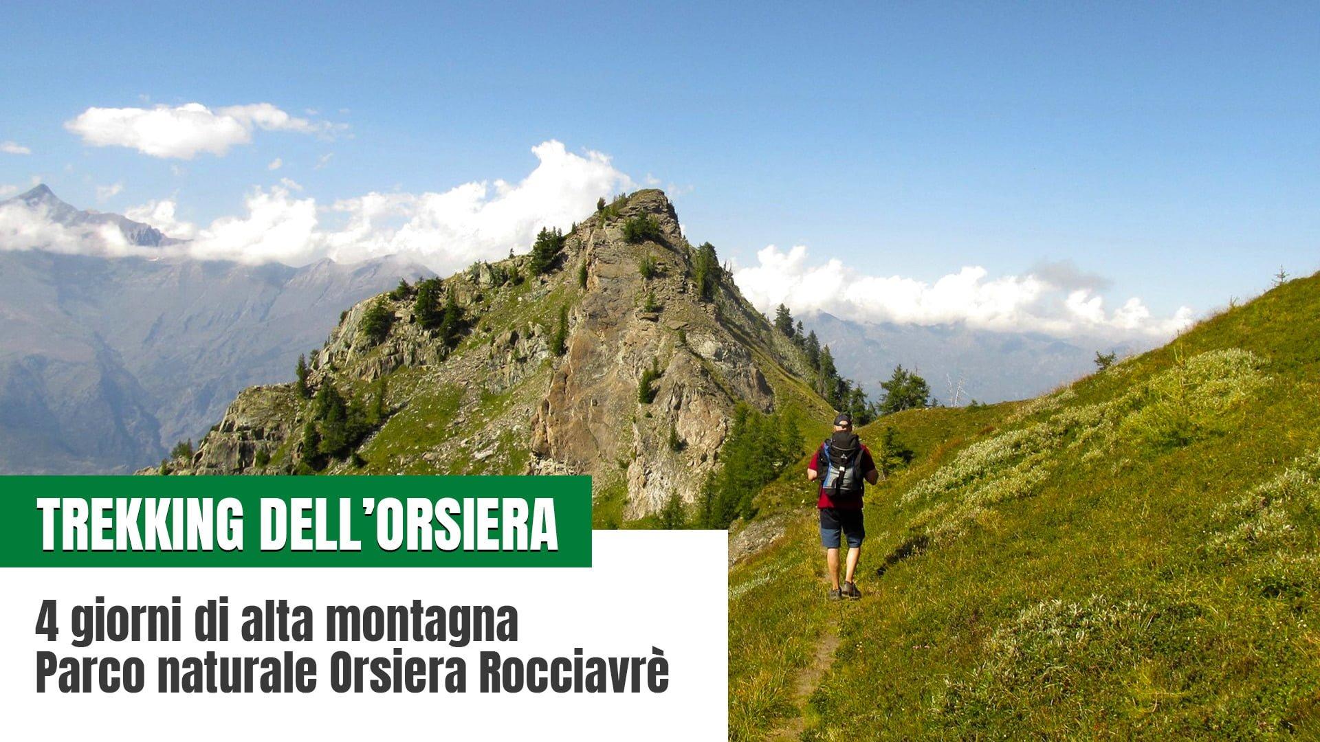 Trekking dell'Orsiera